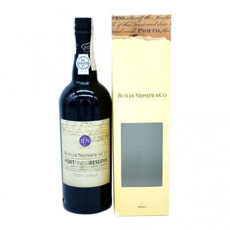 Port Tawny Finest Reserve Butler Nephew & Co. Christie's Port Wine Astucciato