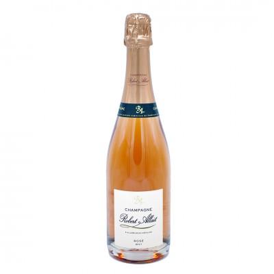 Champagne Cuvée Rosé Brut Robert Allait